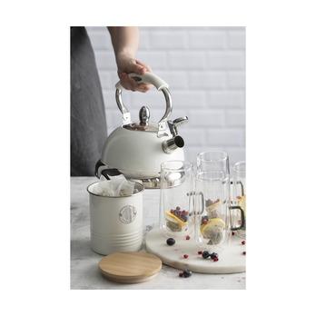 Емкость для хранения чая Living, кремовая, 1 л