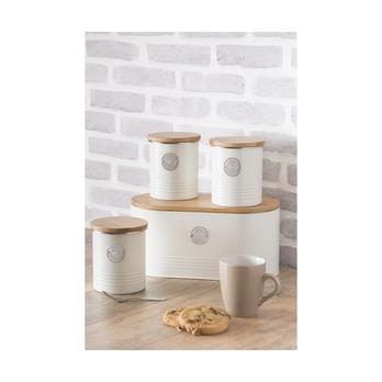 Емкость для хранения кофе Living, кремовая, 1 л