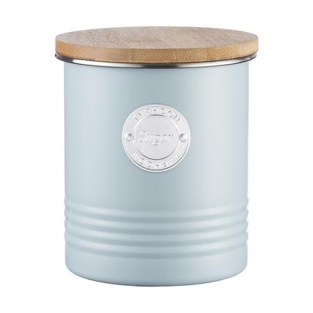 Емкость для хранения сахара Living, голубая, 1 л