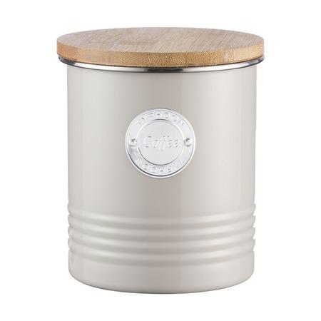 Емкость для хранения кофе Living, жемчужная, 1 л