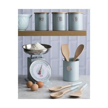 Весы кухонные Living, голубые, 4 кг