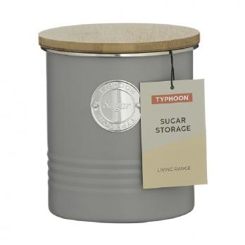 Емкость для хранения сахара Living, серая, 1 л