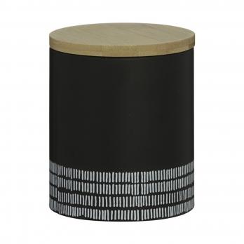 Емкость для хранения Monochrome, средняя, черная, 1 л
