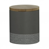 Емкость для хранения Monochrome, средняя, серая, 1 л