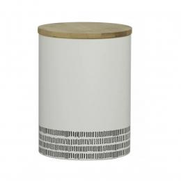 Емкость для хранения Monochrome, большая, белая, 2 л
