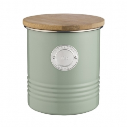 Емкость для хранения чая Living, зеленая, 1 л