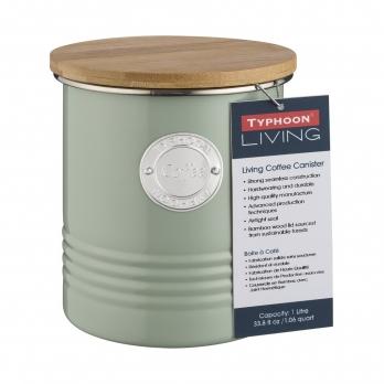 Емкость для хранения кофе Living, зеленая, 1 л