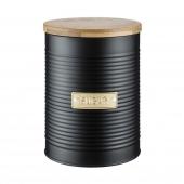 Емкость для хранения сахара Otto, черная 1,4 л