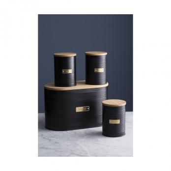 Емкость для хранения чая Otto, черная, 1,4 л