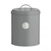 Контейнер для пищевых отходов Living, серый, 2,5 л