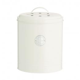 Контейнер для пищевых отходов Living, кремовый, 2,5 л