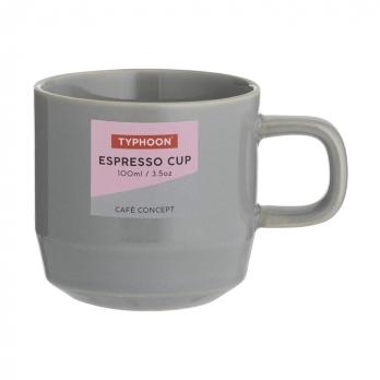 Чашка для эспрессо Cafe concept, 100 мл, темно-серая