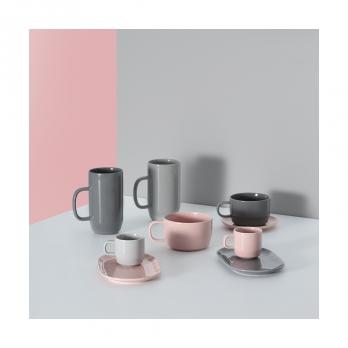 Чашка для латте Cafe concept, 550 мл, темно-серая