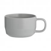 Чашка для каппучино Cafe concept, 400 мл, серая