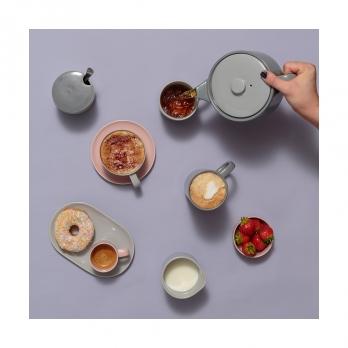 Сахарница Cafe concept, 8.5 см, серая