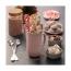 Тарелка сервировочная Cafe concept, 19.6х12.5 см, розовая