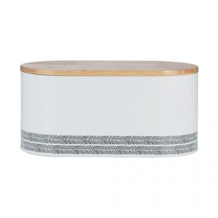 Хлебница Monochrome, 7.5 л, белая