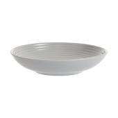 Тарелка для пасты Living, 22.5 см, серая