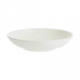 Тарелка для пасты Living, 22.5 см, кремовая