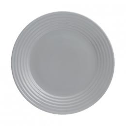 Тарелка обеденная Living, 27 см, серая