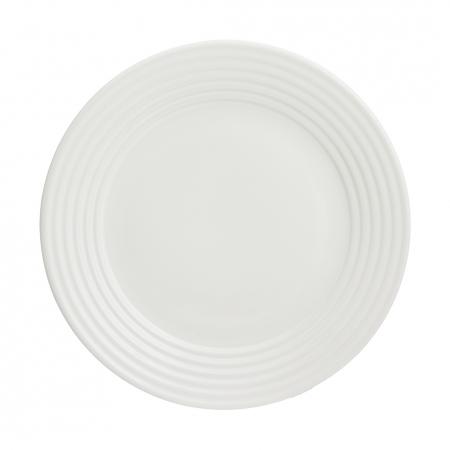 Тарелка обеденная Living, 27 см, кремовая