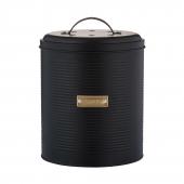 Контейнер для пищевых отходов Otto, 2.5 л, черный