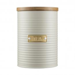 Емкость для хранения чая Otto, 1.4 л, кремовая