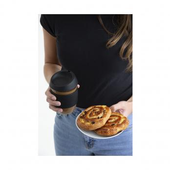Кружка для кофе, 400 мл, черная